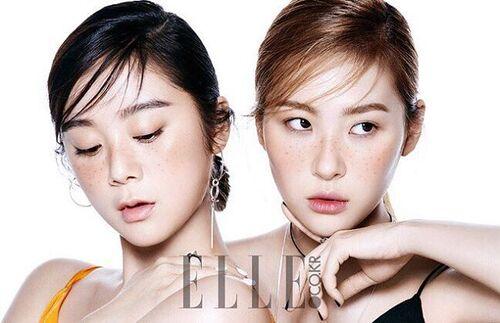Lim et Sunmi pour Elle