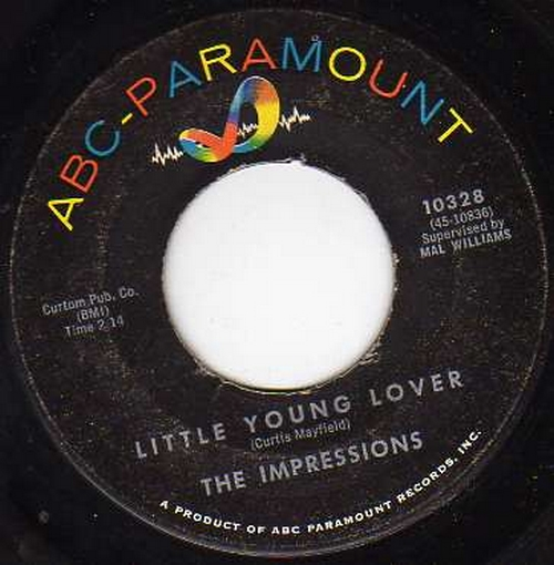 1962 : Single SP ABC Paramount Records 10328 [ US ]