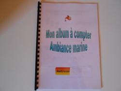 Album à compter (ambiance marine) en Moyenne Section