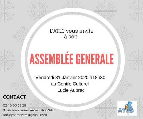 Assemblée Générale de l' A.T.L.C.