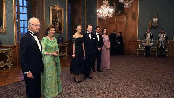 Suède : gala royal annuel au Palais royal