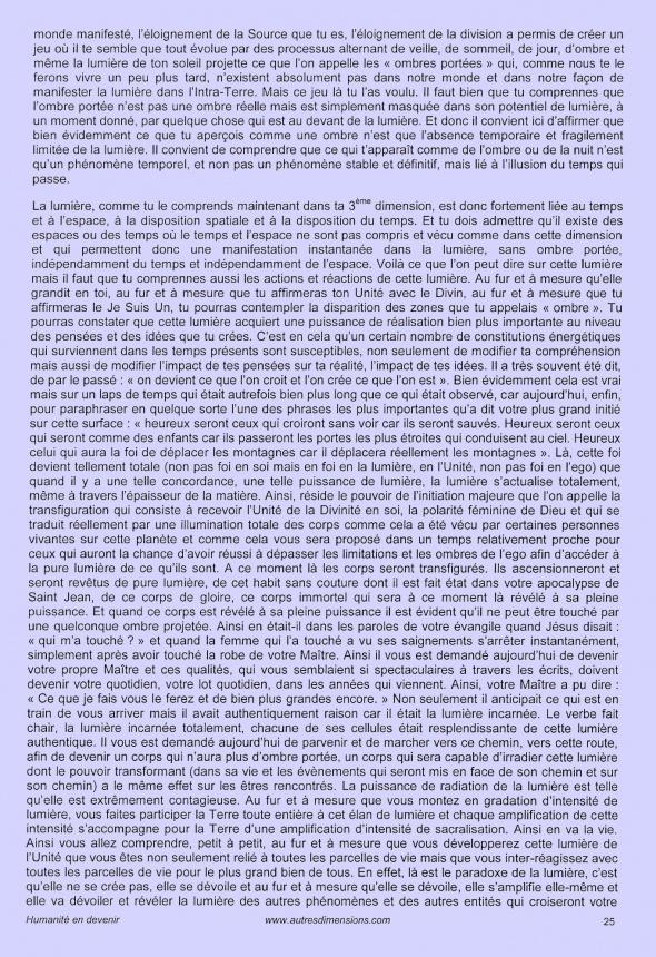 L'Un dans les multiples formes de vie - Page 25