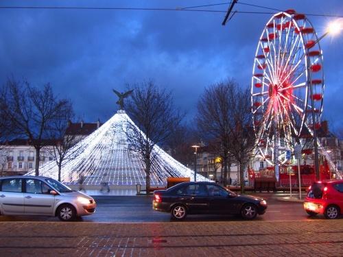 Dijon illuminée pour les Fêtes de 2012
