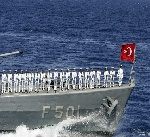 أسطول الحرية 2 بحراسة البحرية التركية