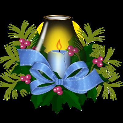 Bougies de Noël ou bougeoirs / etc  1