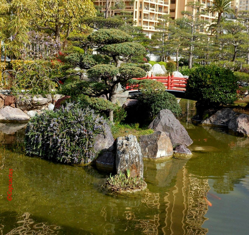 Jardin Japonais à Monaco