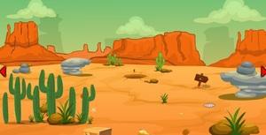 Jouer à Cowboy desert escape