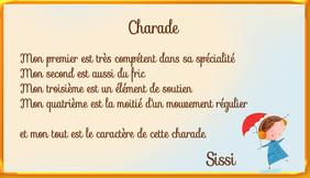 """Lot de la charade """" problématique"""""""
