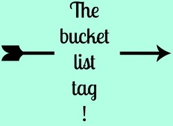 Tag #13 | The bucket list tag