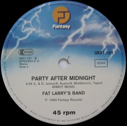 Fat Larry's Band - Party After Midnight