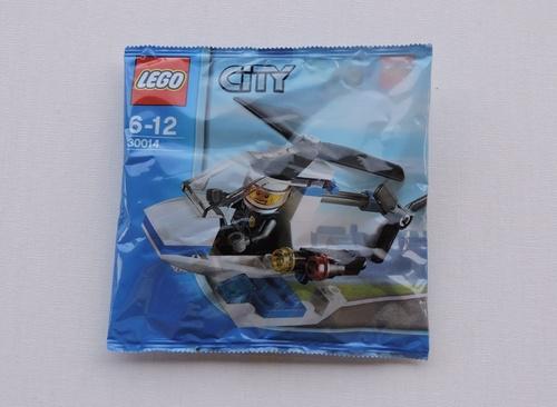 LEGO CITY - Hélicoptère police (32 pièces)