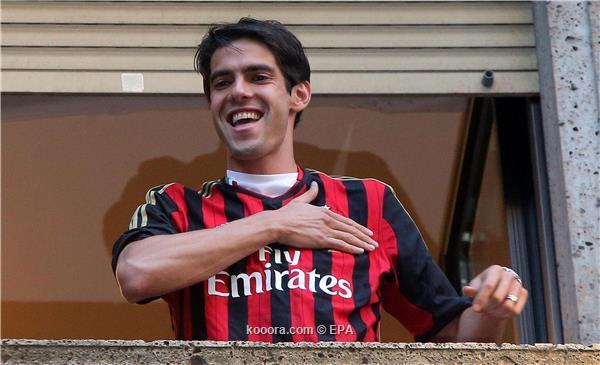 Les premières photos de Kaka au Milan