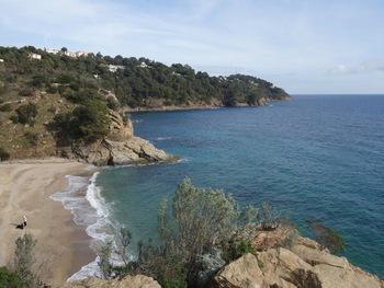 Arrivée à la plage de Bonporteau