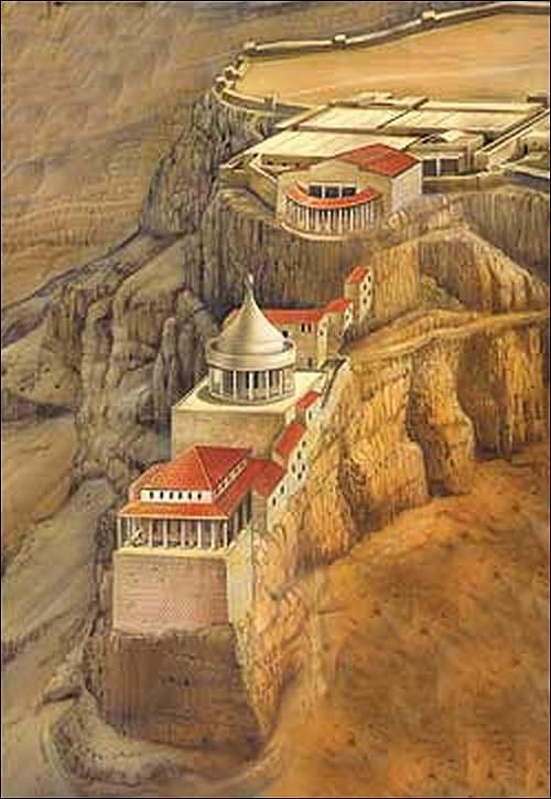 Patrimoine mondial de l'Unesco : Massada - Israël