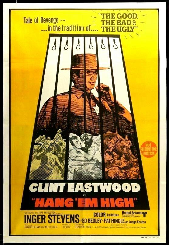 HANG'EM HIGH box office usa 1968