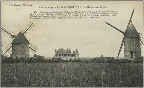 Les moulins du Caillon....