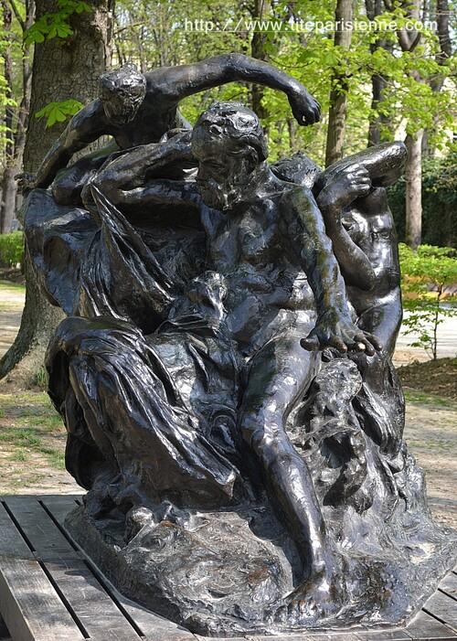 Jardin du Musée Rodin : Victor Hugo et les Muses