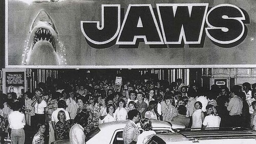 LES DENTS DE LA MER - JAWS - STEVEN SPIELBERG BOX OFFICE 1976