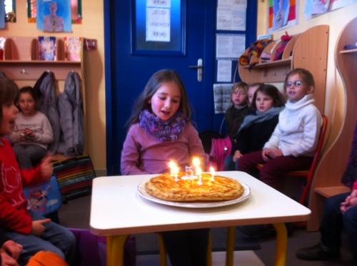 * Bon anniversaire, Louise ! *