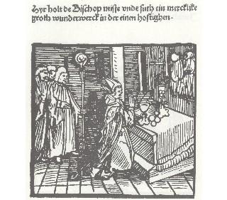 Miracle Eucharistique Allemagne Wilsnack 1383