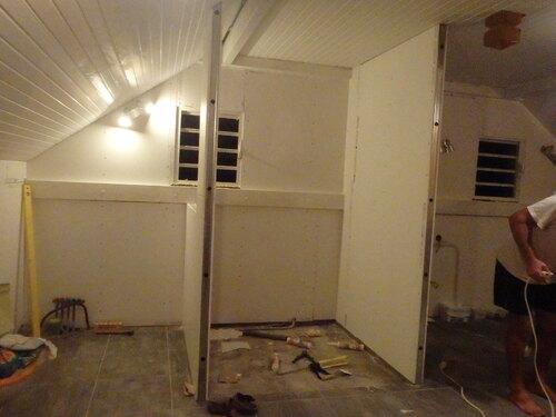 en chantier une chambre de +
