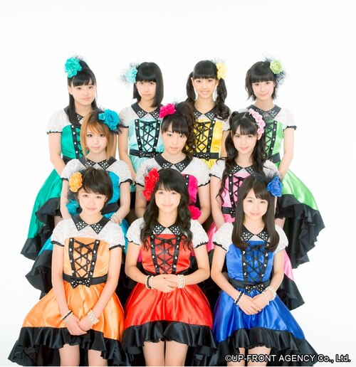 ⑬ Colorful Character Morning Musume