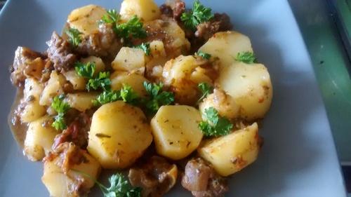 Pommes de terre sautées à la camerounaise