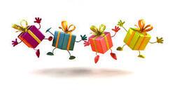 La ronde des cadeaux.