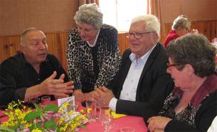 Les doyens mis à l'honneur au banquet communal