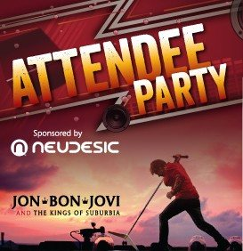 Jon Bon Jovi & the Kings of Suburbia Play a Pool Party for microsoft SharePoint