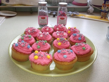 cup cake 4 ans