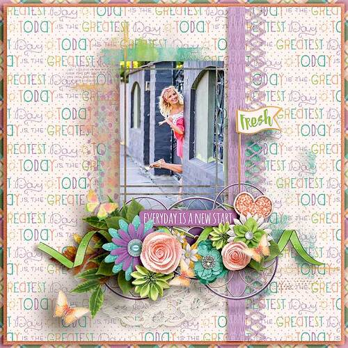 Fresh Start by dentelle scrap