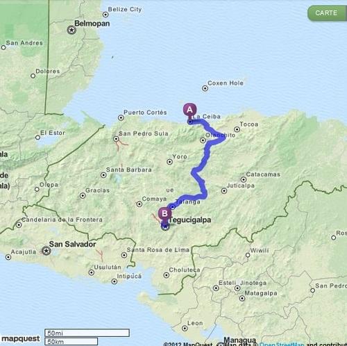 08.12.2012 - La Ceiba > Tegocigalpa