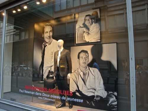 Printemps Brummell mannequin et star Paul Newman 3