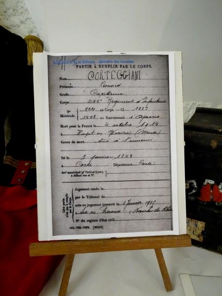"""""""Une autre vision de la guerre 1914-1918"""" , souvenir d'une exposition Salle des Bénédictines"""
