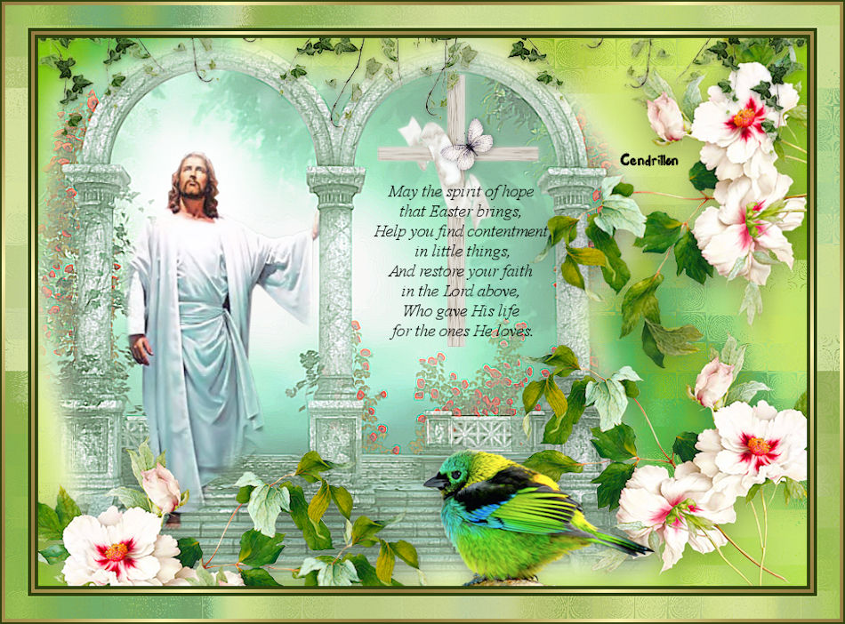 Easter Blessing - Elizabeth Creations