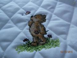 Petit ours pour Patricia.