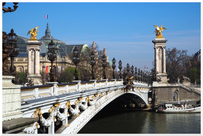 Berges de Seine à Paris.