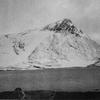 Le pico del ibón del Escalar depuis le ibón