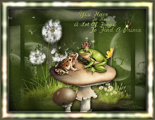 Tag The Frog Prince