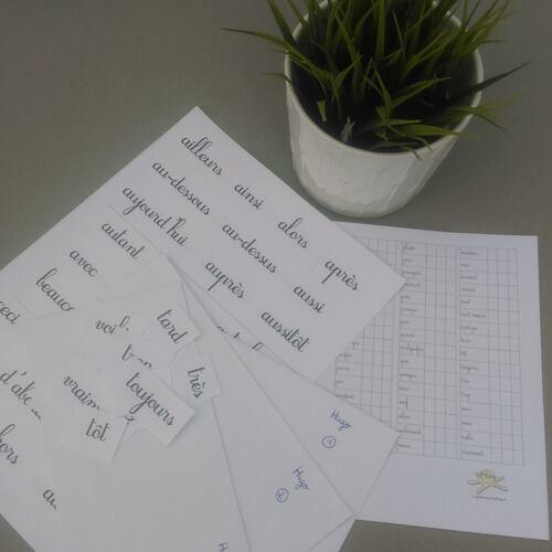 Rituels des mots enveloppes
