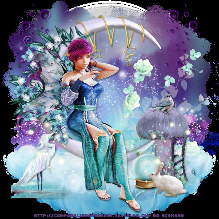 """Tag """"Luna"""" chez Douce Magie Créative"""