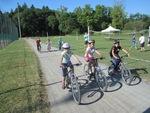 Ce matin, nouvelle séance de vélo par une forte chaleur !