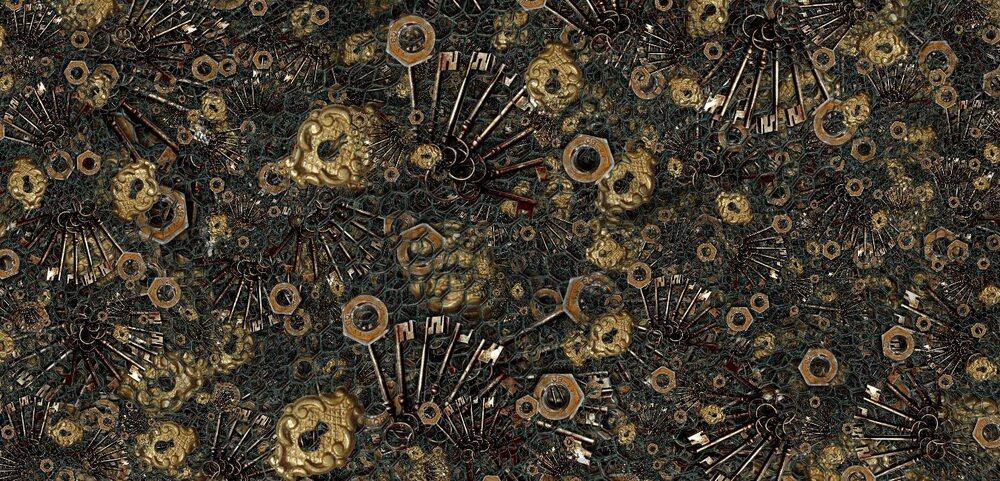 Fonds ou textures abstraits/grunge, ferrailles