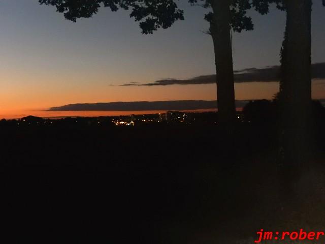 La balade automnale du soir au coucher du soleil ?