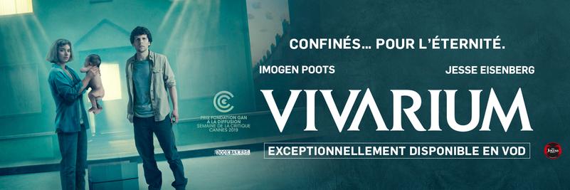 VIVARIUM Avec Jesse EISENBERG & Imogen POOTS - Exceptionnellement en VOD