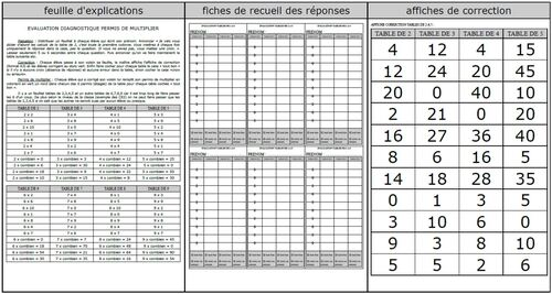 Permis de multiplier : éval diagnostique