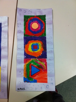 Arts visuels et maths: les formes géométriques