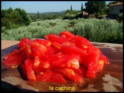 brouillade de tomates provençales