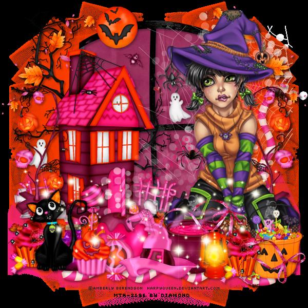 Défi Kit scrap Halloween chez Delire2scrap